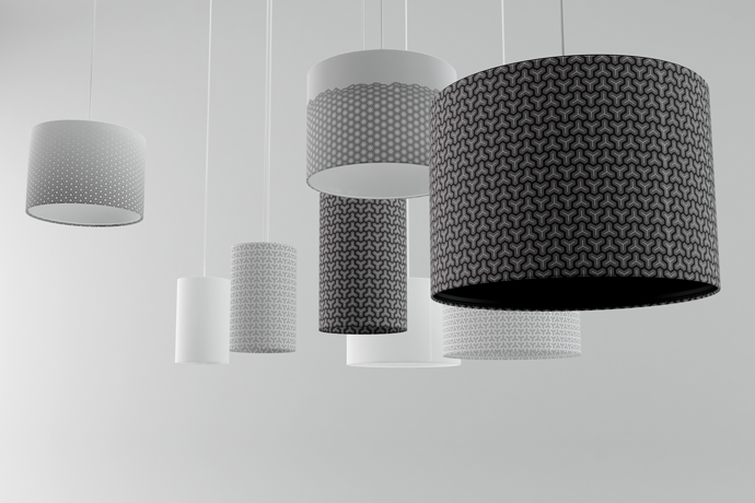 Hex lampshades