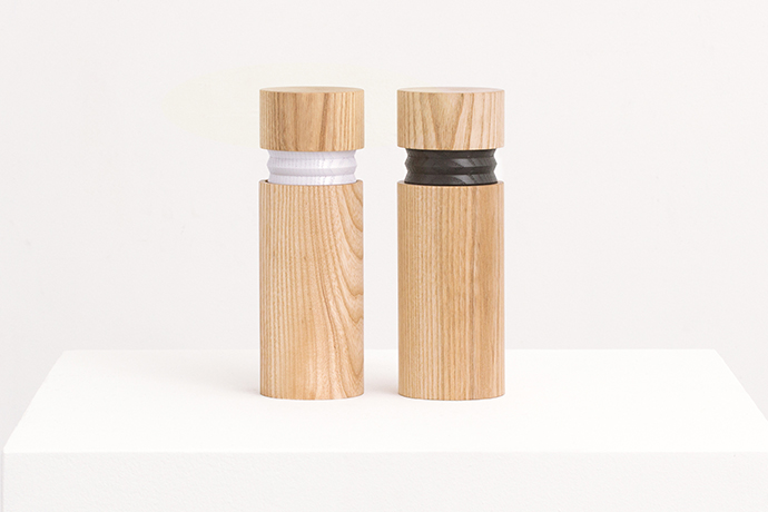 Bellow Salt and Pepper Mills